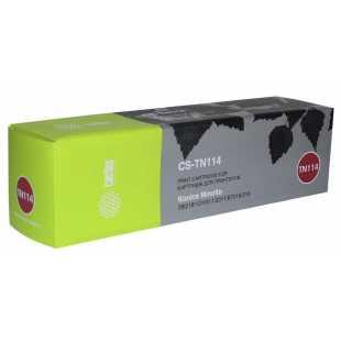 Лазерный картридж Cactus CS-TN114 (TN114 Bk) черный для Konica Minolta 162, 7115F, 7118, 7118F, 7216, 7220, Bizhub 163, Bizhub 210, Bizhub 211 (11'000 стр.)