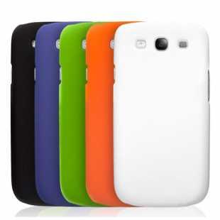 Чехол силиконовый цветной для Samsung Galaxy S