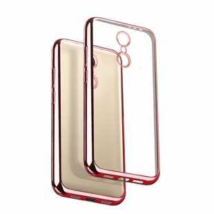 Чехол силиконовый с цветной рамкой для Xiaomi Mi