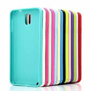 Чехол силиконовый цветной для Samsung Galaxy Note