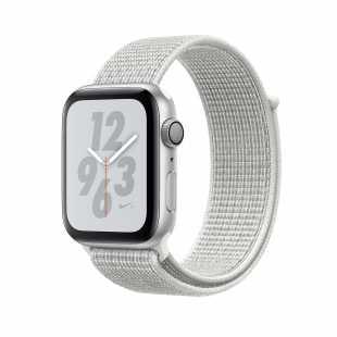 Apple Watch Series 4 Nike+ 40mm Silver Aluminum Case with Summit White Nike Sport Loop