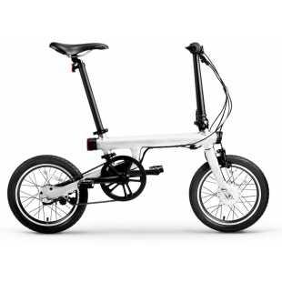 Xiaomi MiJia Qi Cicle Folding Electric Bike White