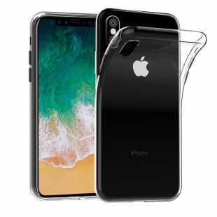 Чехол защитный силиконовый для iPhone X