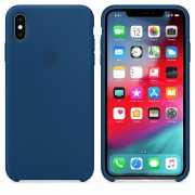 Чехол силиконовый Apple для iPhone XS Морской горизонт...