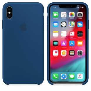 Чехол силиконовый Apple для iPhone XS Морской горизонт