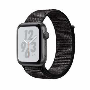Apple Watch Series 4 Nike+ 44mm Space Gray Aluminum Case with Black Nike Sport Loop